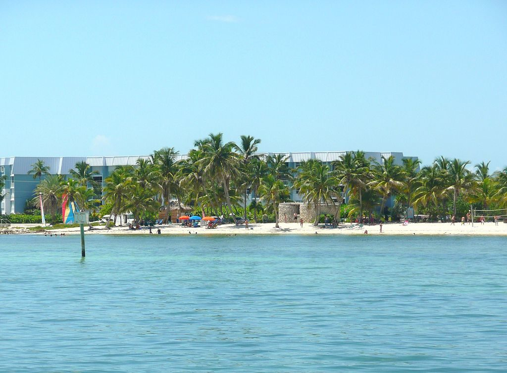Key West Public Beaches - Smathers Beach